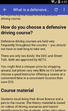 Defensive Driving Course screenshot 1