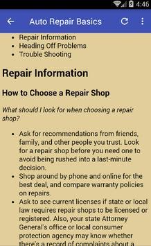 Auto Repair screenshot 1