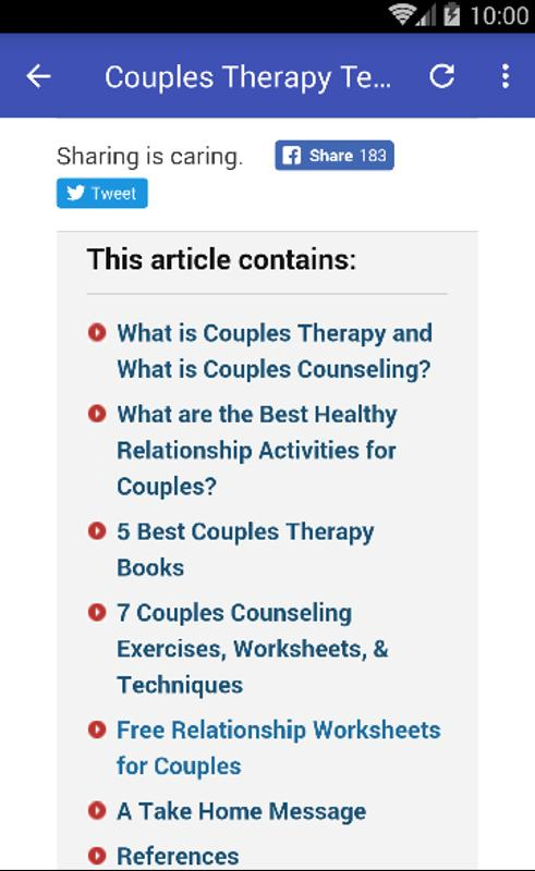 Couples Therapy For Android Apk Download
