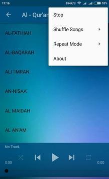Holy Quran Audio screenshot 3