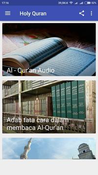 Holy Quran Audio apk screenshot