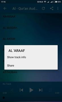 Holy Quran Audio screenshot 2