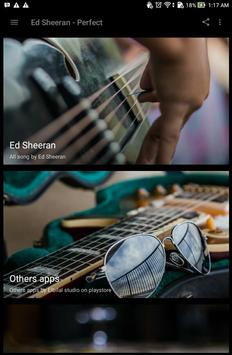 Ed Sheeran - Perfect screenshot 3