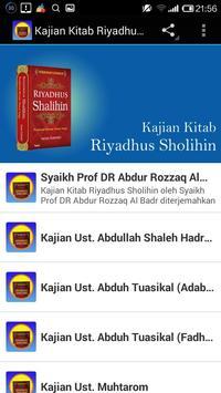 Kajian Kitab Riyadhus Shalihin poster