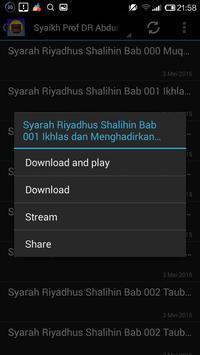 Kajian Kitab Riyadhus Shalihin apk screenshot
