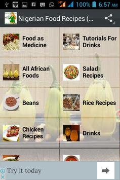 Nigerian Food Recipes (all) screenshot 1