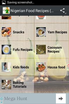 Nigerian Food Recipes (all) screenshot 2