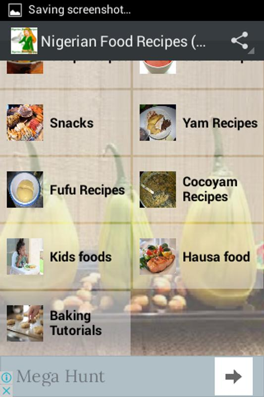 Nigerian food recipes all apk download free food drink app nigerian food recipes all apk screenshot forumfinder Images
