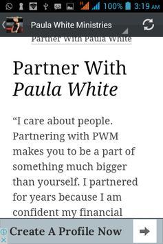 Paula White Ministry Daily screenshot 2