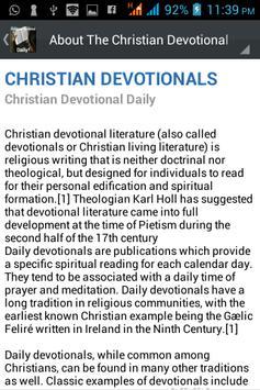 Christian Devotionals Daily apk screenshot