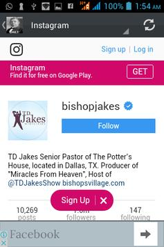 Bishop T.D Jakes Daily screenshot 7