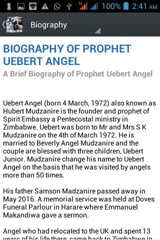 Prophet Uebert Angel Daily for Android - APK Download