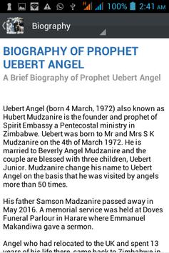 Prophet Uebert Angel Daily apk screenshot