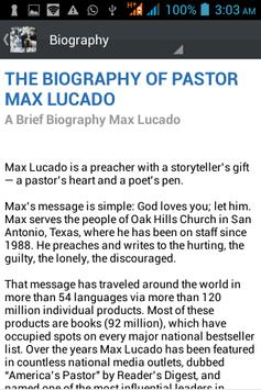 Max Lucado Ministry Daily screenshot 3
