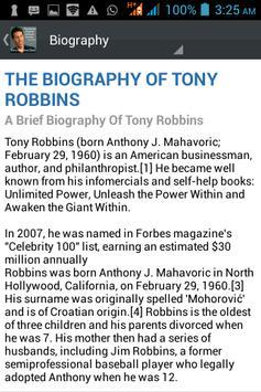Tony Robbins Daily poster