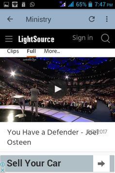 Joel Osteen Daily Devotional apk screenshot