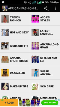 AFRICAN FASHION AND STYLE screenshot 3