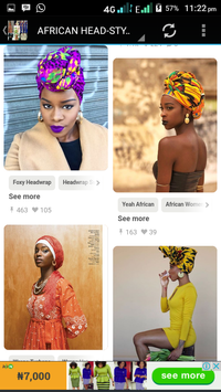 AFRICAN FASHION AND STYLE screenshot 6