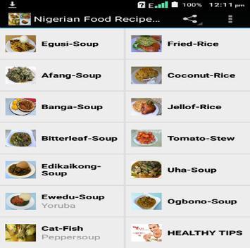 Nigerian food recipes 2017 apk download free health fitness nigerian food recipes 2017 poster forumfinder Gallery