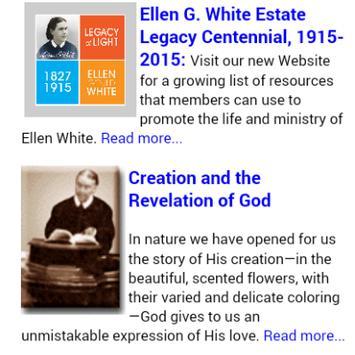 Ellen White Daily Devotional poster