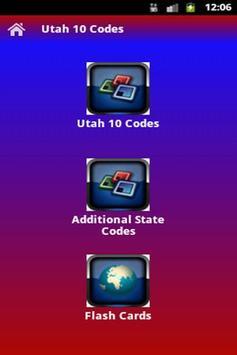 Utah 10-Codes apk screenshot