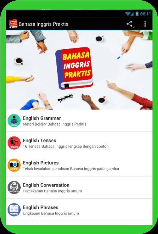 Bahasa Inggris Praktis poster