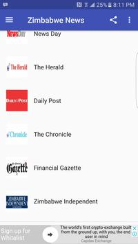 Zimbabwe Newspapers screenshot 9