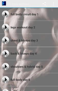 Pocket Workouts challenge screenshot 1