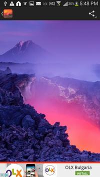 Volcano Wallpaper apk screenshot