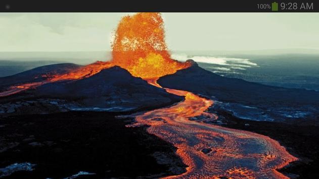 Volcano Wallpaper screenshot 6
