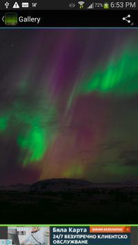 Aurora Borealis Wallpaper apk screenshot