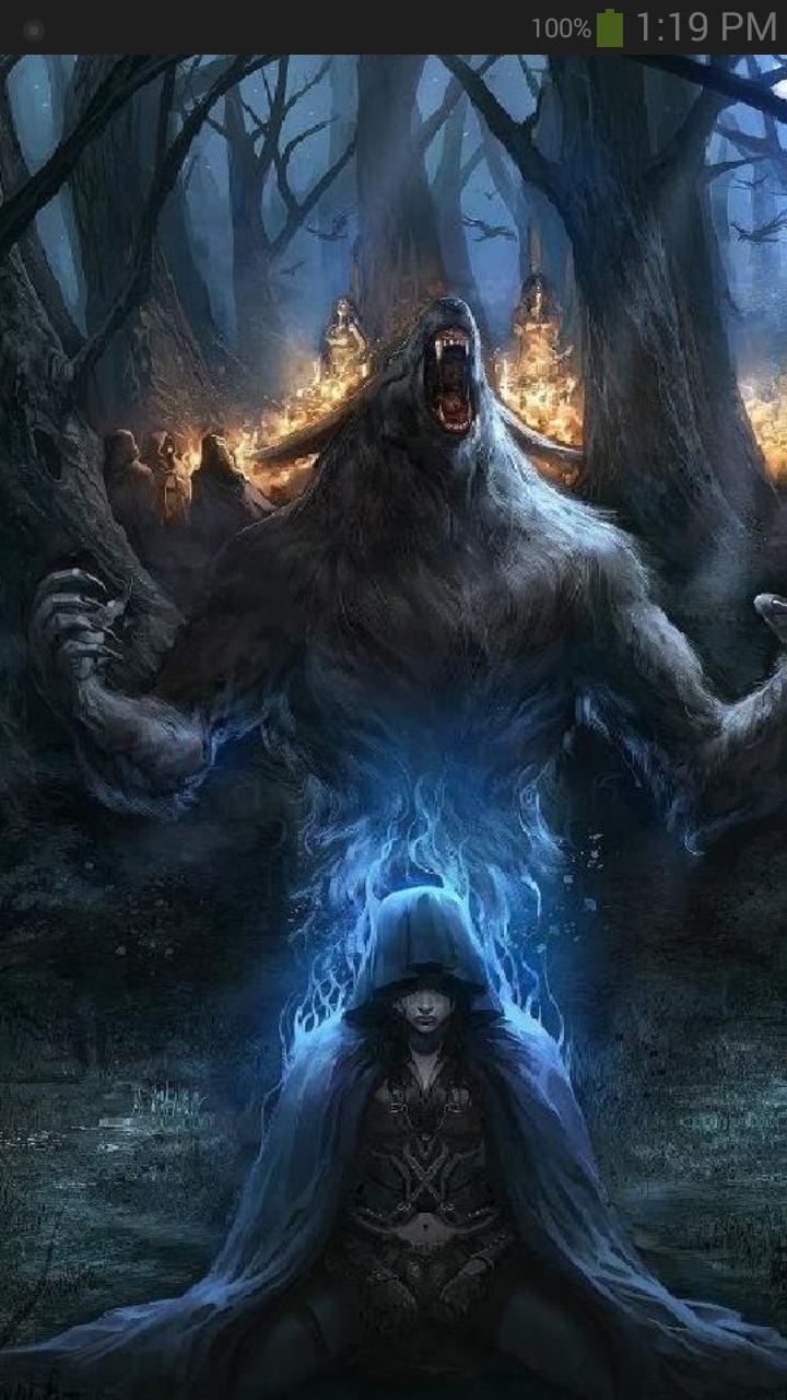Dark Fantasy Wallpaper For Android Apk Download
