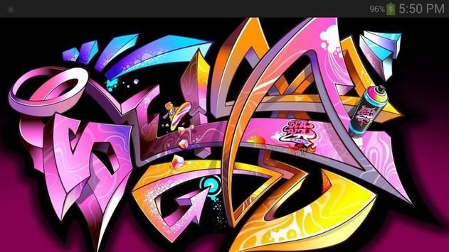 Graffiti Wallpaper screenshot 1