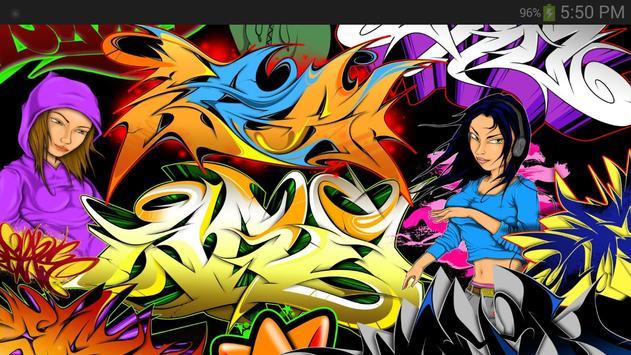 Graffiti Wallpaper screenshot 2