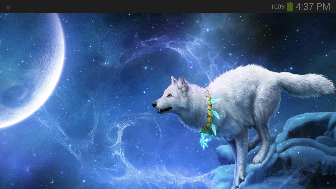 Fond d'écran Fantasy loup pour Android - Téléchargez l'APK