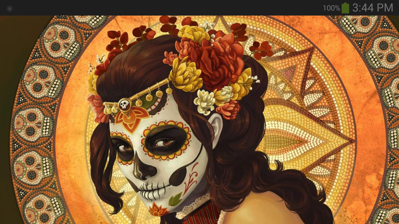 Day Of The Dead Wallpaper For Android Apk Download