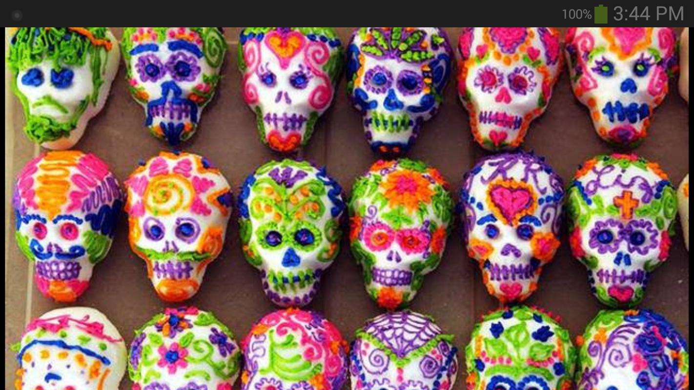 Fondo De Pantalla De Día De Los Muertos For Android
