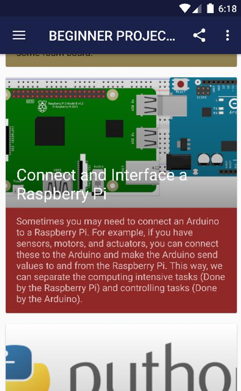 Simple Electronic Projects for Beginners for Android - APK Download