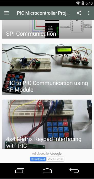 PIC Microcontroller Projects for Android - APK Download