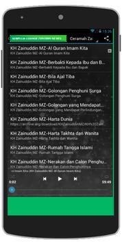 Ceramah KH Zainuddin MZ MP3 poster