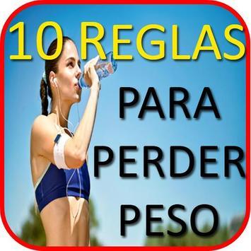 10 Reglas Para Perder Peso poster
