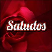 Saludos con rosas hermosas icon