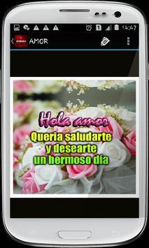 Saludos con rosas hermosas screenshot 2