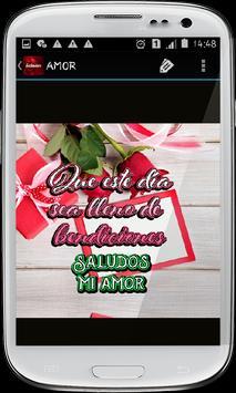 Saludos con rosas hermosas screenshot 4