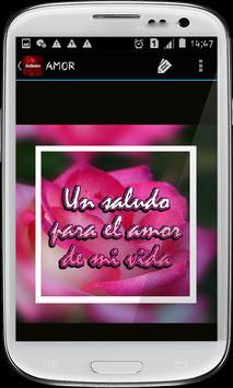 Saludos con rosas hermosas screenshot 9