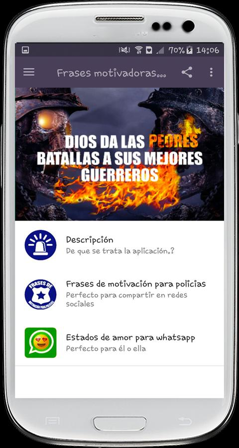 Frases Motivadoras De Policías For Android Apk Download