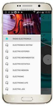 RADIO ELECTRONIC TRANCE poster