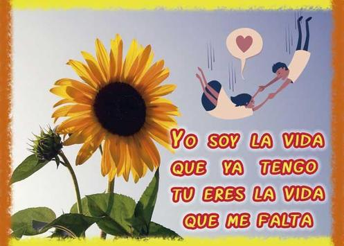 Frases de amor con girasoles screenshot 2