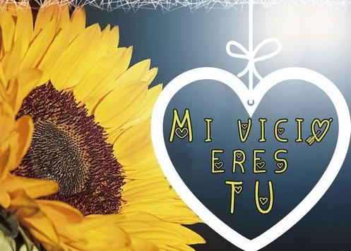 Frases de amor con girasoles screenshot 4