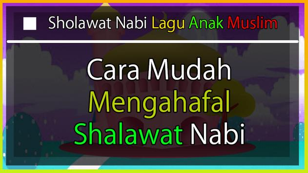 Sholawat Nabi Lagu Anak Muslim poster